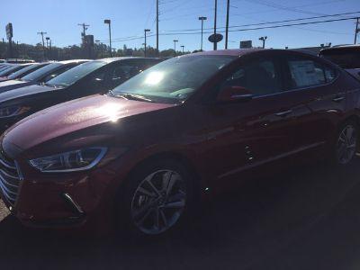 2017 Hyundai Elantra Limited (Scarlet Red Pearl)