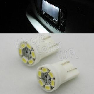 Purchase 2 x T10 194 2825 168 HID White 6 1210 SMD LED Bulbs For License Plate Lights motorcycle in Cupertino, CA, US, for US $4.95