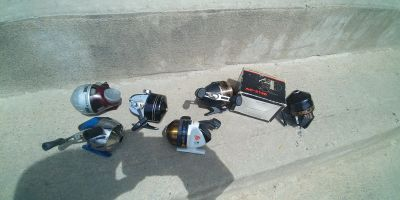 FISHING REELS (25 FOR ALL)