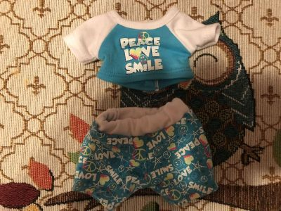 Small Build a Bear pet outfit $1