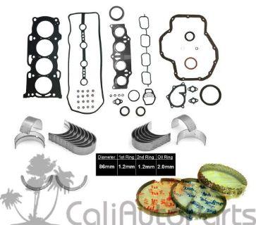 "Find FITS: 01-03 TOYOTA RAV4 2.0L DOHC ""1AZFE"" ENGINE FULL GASKET SET *RE-RING KIT* motorcycle in Orange, California, United States, for US $149.25"