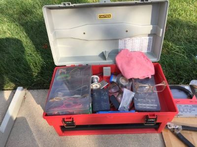 Tool Box, Includes Everything Inside, Great Condition
