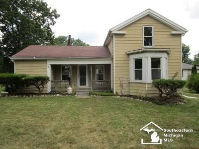 4 Bed 1 Bath Foreclosure Property in Dundee, MI 48131 - Toledo St