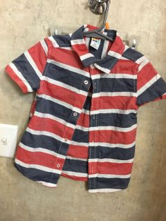 Toddler boys button up size 5t