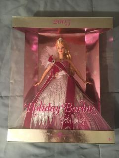 Holiday Barbie Doll Collection 2005 - 2008