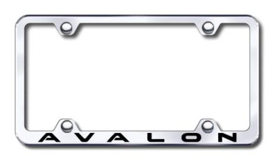 Find Toyota Avalon Wide Body Engraved Chrome License Plate Frame -Metal Made in USA motorcycle in San Tan Valley, Arizona, US, for US $30.98