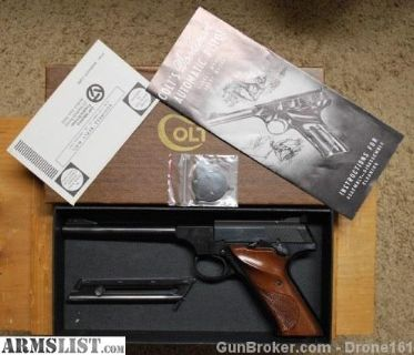 For Sale/Trade: 1973 Colt Woodsman unfired in the box