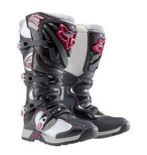 Buy Fox Comp 5 Womans / Girls Motocross Dirt Bike Boots - Black/Pink 05029-285 motorcycle in Simi Valley, California, US, for US $185.95