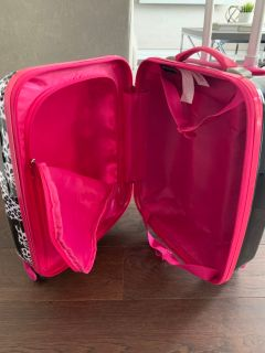 Girls hard cover Suitcase with wheels