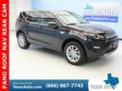 used 2016 Land Rover Discovery Sport for sale.