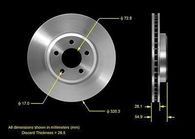 Sell Two (2) Bendix Brakes Brake Rotor Solid Surface Iron Front Chrysler Dodge motorcycle in Tallmadge, Ohio, US, for US $95.89