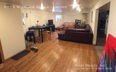 Ravenswood Gardens/Lincoln Square - 3-Bedroom/1-Bath - Steps from the Brown Line!