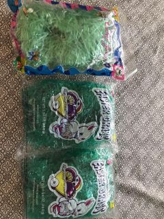 3 bags of Easter grass