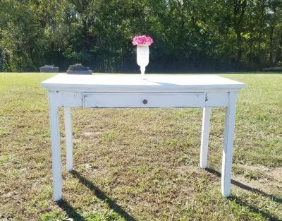 COUNTRY WHITE FARMSTYLE DESK
