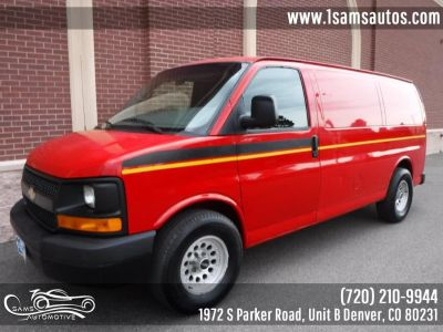 2008 Chevrolet Express 1500 1500 (Sport Red Metallic)