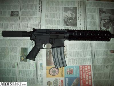 For Sale/Trade: AR 15 Pistol