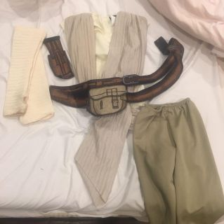 Star Wars Rey Costume Size Small