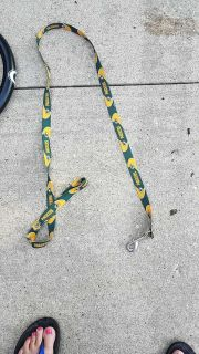 Packer dog leash good condition