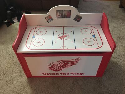 Red wings toy box.