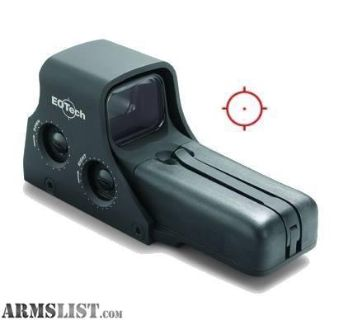 For Sale: New EOTECH 510 MODEL 512 AA-BATTRY HOLOGRAPHIC WEAPON SIGHT
