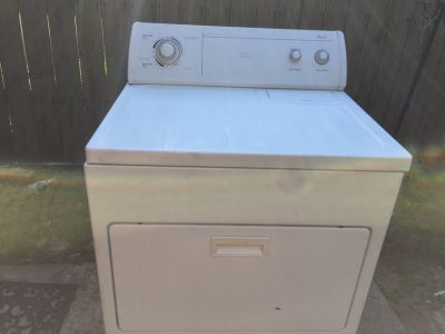 Whirlpool Commercial Technology Dryer