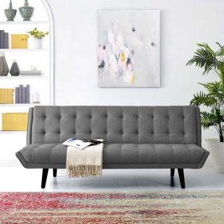 "New 75"" Convertible Sofa 4 Colors Inclds Shipping"