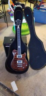 Peavey - Jack Daniels Old #7 electric guitar with amp
