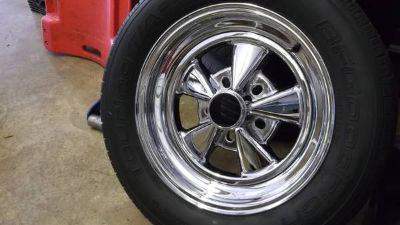 Crager Mag Wheel Set with Tires