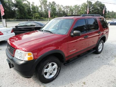 2005 Ford Explorer XLS (Red)