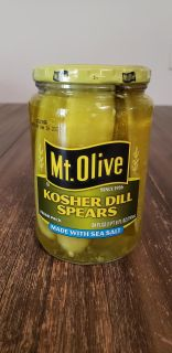 New Mt. Olive Kosher Dill Spears Made With Sea Salt 24 fl oz Expores Jan 28 2020