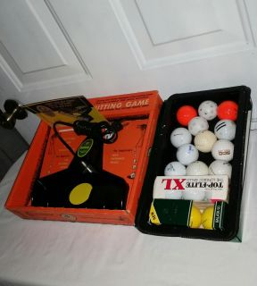 Vintage 1968 (50 years old) Birdie Electric Putting Game. Like new in box. Works great, 12 practice balls and 6 new balls. All $12