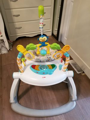 Fischer-Price Jumperoo: Colourful Carnival Spacesaver