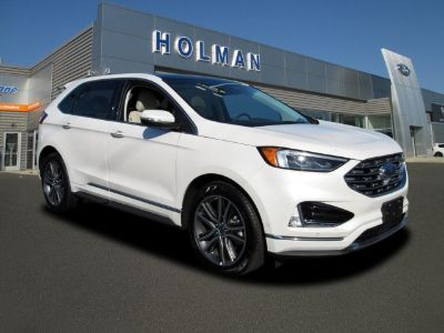 2019 Ford Edge Titanium (White Platinum Metallic Tri-Coat)