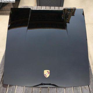 911 Hood Porsche schwartz