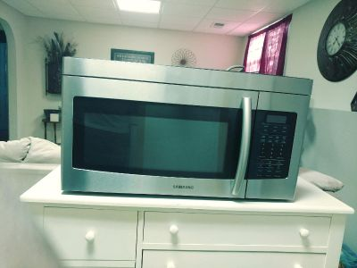 Samsung Above Stove Microwave