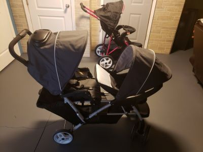 Strollers and Bassinet