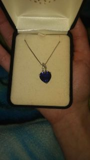 Kay Jewelers Sapphire Necklace
