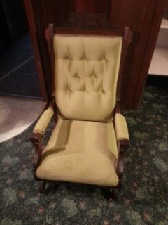 Victorian antique rocking chairs