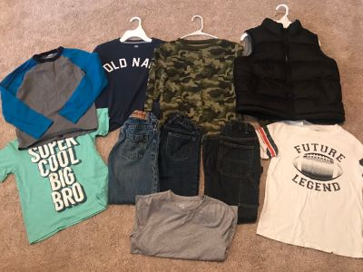 Boys size 7/8 Medium lot