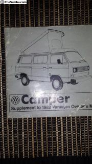 vanagon bus camper manual book