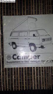 vanagon bus camper manual book