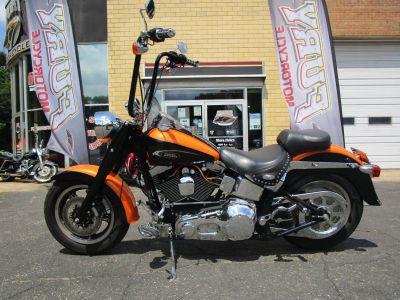 2004 Harley-Davidson FLSTF/FLSTFI Fat Boy Cruiser Motorcycles South Saint Paul, MN
