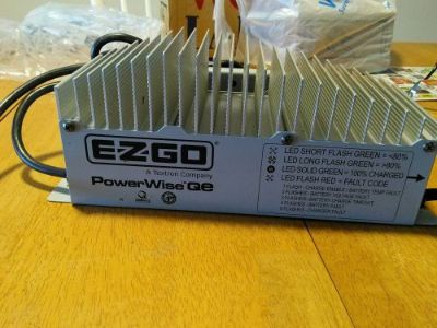 Sell E-Z-GO RXV TXT 48V POWERWISE QE CHARGER TESTED WITH NEW CORD!!!! motorcycle in Cape Coral, Florida, United States, for US $250.00
