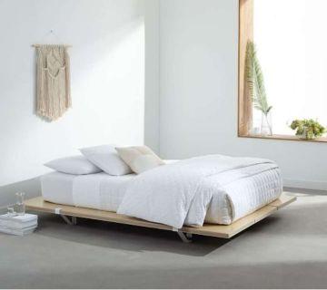 Floyd Platform bed with headboard
