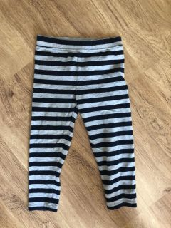 Grey and navy soft cotton pants from GAP