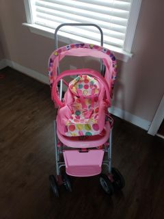 Babydoll car seat and stroller