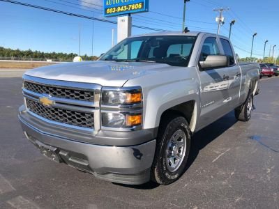 2015 Chevrolet Silverado 1500 Double Cab LS (Silver Ice Metallic)