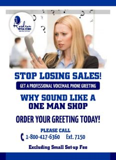 Stop Losing Sales! Sign up for a Free trial live phone support,
