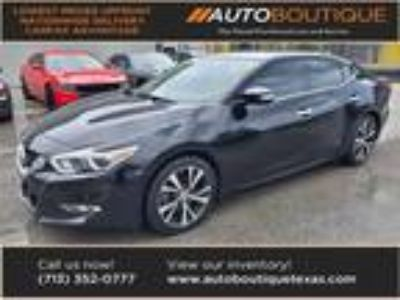 used 2016 Nissan Maxima for sale.