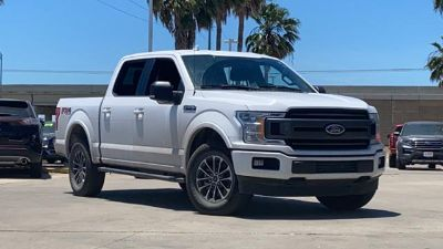2018 Ford F-150 XLT 4WD SuperCrew 5.5' Box (Oxford White)